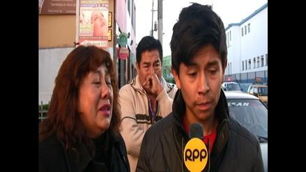 Arequipa: familiares de policía fallecido piden justicia
