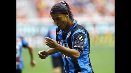 Ronaldinho anota su cuarto gol del año y da triunfo al Querétaro