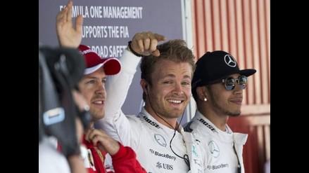 GP de España: Nico Rosberg logra su primera 'pole' de la temporada
