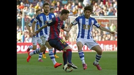 Barcelona vs. Real Sociedad: Messi volvió a 'romper' una cintura