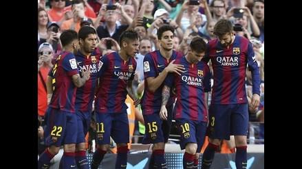Barcelona gana al Real Sociedad con gol de Neymar y 'chalaca' de Pedro