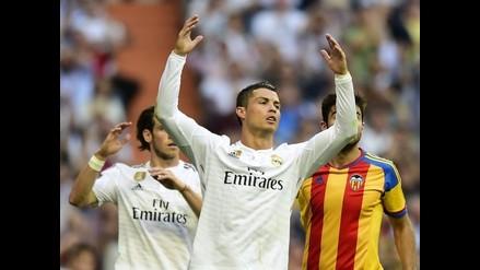 Real Madrid vs. Valencia: Cristiano Ronaldo falla penal
