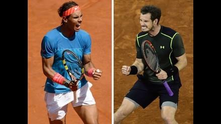 Masters 1000 de Madrid: El mejor Murray en tierra reta al rey Nadal en la final