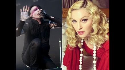 Marilyn Manson quiere tener sexo con Madonna y ella le responde