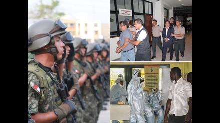 Resumen: Militares llegan a Islay para resguardar seguridad, nueve meses de prisión preventiva para exfuncionarios de Viñas Dioses y Liberia es el primer país africano en quedar libre del ébola