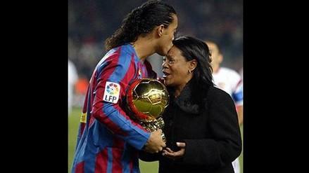 Día de la Madre: Ronaldinho y un conmovedor mensaje en Facebook