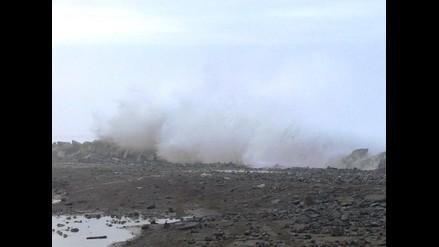 Moquegua: caletas y puertos de Ilo fueron cerrado por oleajes