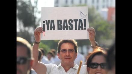 Jalisco: Cientos de personas marcharon contra la violencia
