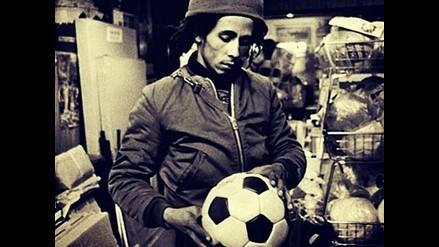 Bob Marley, el mítico cantante jamaiquino que amó y murió por el fútbol