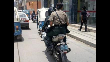 Huánuco: sancionan a nueve policías por infringir normas de tránsito