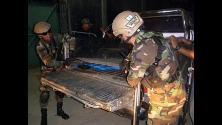 Vraem: hallan 73 kilos de droga camuflados en camioneta