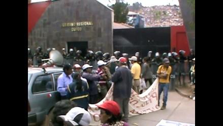 Cusco: pobladores exigen culminación de vías auxiliares y peatonales