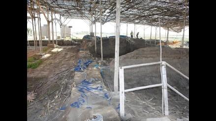 Lambayeque: excavación de antigua capilla del Niño luce abandonada