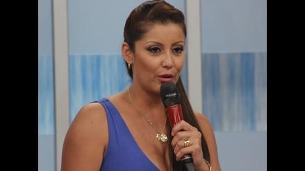 Karla Tarazona se despidió de