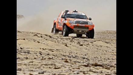 Raúl 'Mono' Orlandini ganó la primera etapa del Rally de los Faraones
