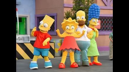 Recrean la ciudad de The Simpsons a tamaño real en Los Ángeles