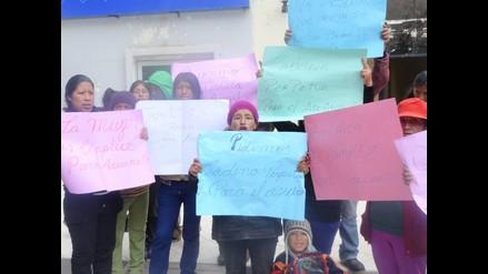 La Oroya: familiares de joven asesinado piden justicia en Poder Judicial