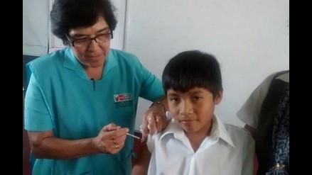 Lambayeque: destinan 1,326 dosis contra la influenza para niños de Motupe