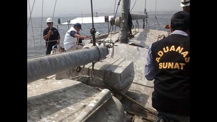 Incautan velero que ingresó de forma ilegal al país