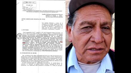Junín: pobladores denuncian que director regional los insultó