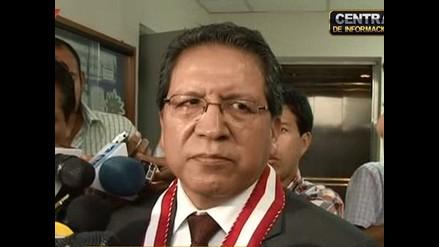 Pablo Sánchez: Espero tener los votos para continuar como fiscal de la Nación