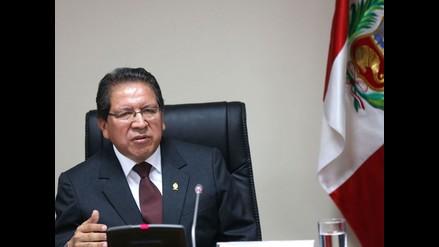 Encargan a Pablo Sánchez despacho de fiscal de la Nación