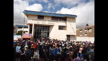 Juliaca: capturan a ex trabajador municipal acusado de extorsión
