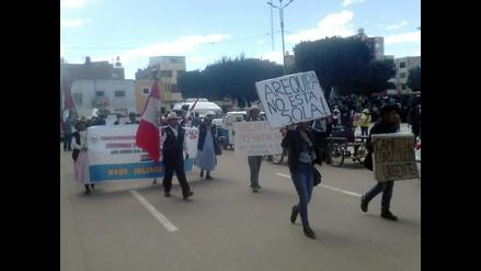 Arequipa: advierten reactivación del conflicto Majes Siguas II