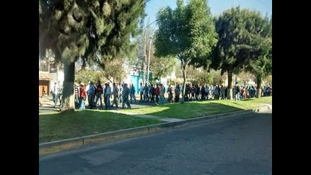 Universitarios respaldan a productores de Islay en Cusco