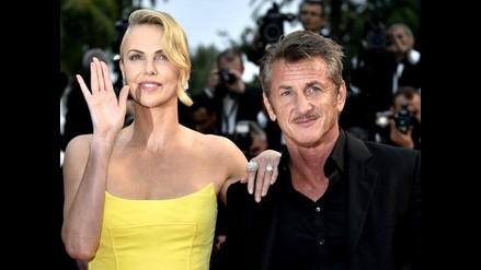 Charlize Theron y Sean Penn, la pareja del día en Cannes