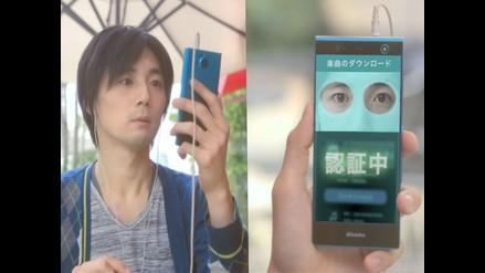 Lanzan primer smartphone capaz de reconocer el iris del usuario