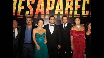 Desaparecer: lluvia de estrellas en alfombra roja de film nacional