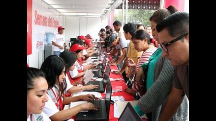 Ofrecerán más de 17 mil puestos de empleo en Lima
