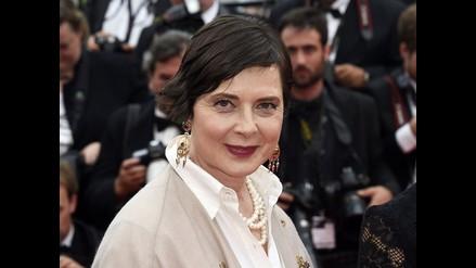 Isabella Rossellini asegura que no teme a la vejez