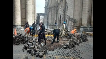 Reparar calles de Arequipa dañadas en paro costará 60 mil soles