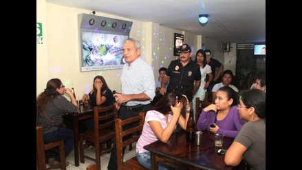 Trujillo: clausuran cinco bares clandestinos en urbanización Monserrate