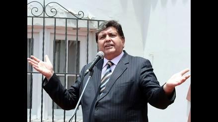 Megacomisión: Acción de amparo de Alan García se resolverá con juez dirimente