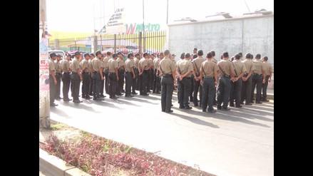 Cañete: alcaldes coordinaron acciones con la policía para frenar asaltos