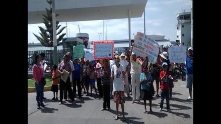 Moyobamba: rondas campesinas marchan por la seguridad ciudadana