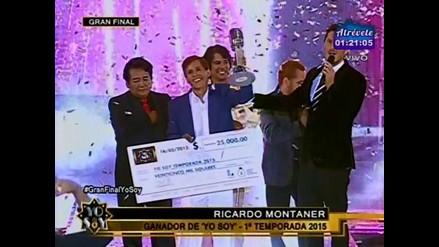 Yo Soy: Ricardo Montaner fue el ganador absoluto de la temporada