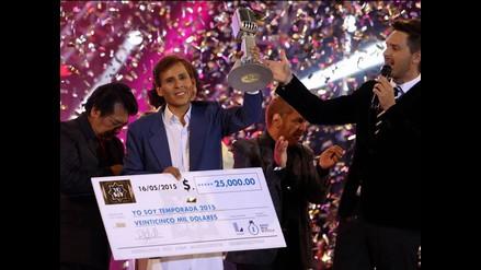 Yo Soy: así se vivió el triunfo de Ricardo Montaner