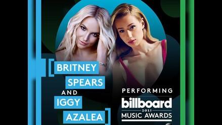 Billboard: Britney Spears confirma show junto a Iggy Azalea