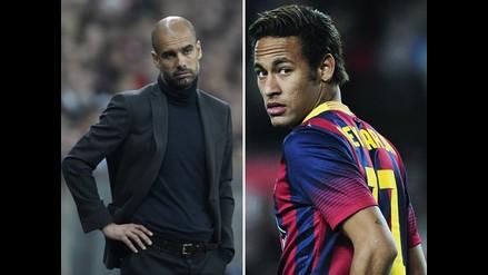 Josep Guardiola: Con la Selección Brasileña y Neymar habría ganado el Mundial