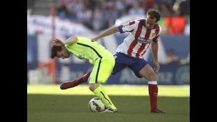 Atlético Madrid vs. Barcelona: La mano que impidió el primer gol azulgrana