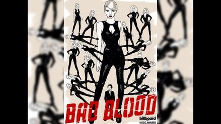 Billboard 2015: Taylor Swift estrenó videoclip de Bad Blood