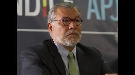 José Ugaz negó presión a juez para que sentencie a Aurelio Pastor