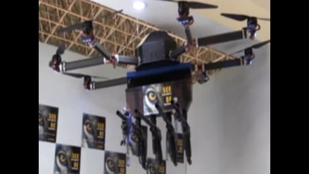 Francia, Alemania e Italia plantean crear un dron militar europeo