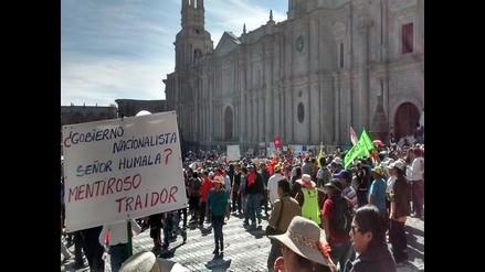 Arequipa: consejo regional pedirá al ejecutivo suspender proyecto Tía María