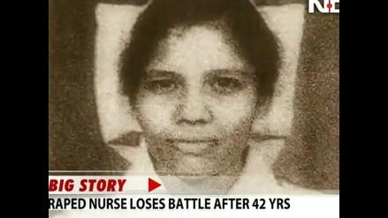 Mujer que llevó eutanasia a la India muere tras pasar 42 años en coma