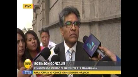 Robinson Gonzales negó que jueza que lo liberó sea su amiga